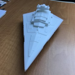 Télécharger STL gratuit Imperial Star Destroyer, fousfous