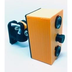 Download free 3D printer model Raspberry Pi Zero W case for compatible asian NoIR camera, projetsdiy