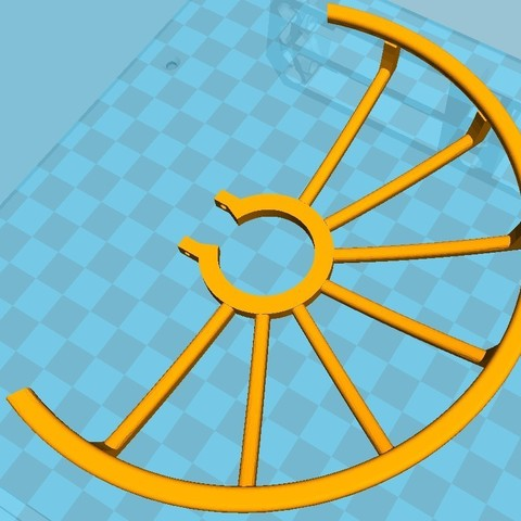Protection 01.jpg Download STL file Protection of drone propellers Max. diameter 140 mm • 3D printing model, Michel012