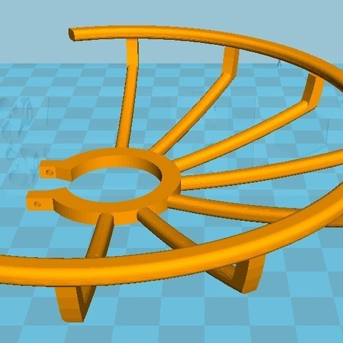 Protection 02.jpg Download STL file Protection of drone propellers Max. diameter 140 mm • 3D printing model, Michel012