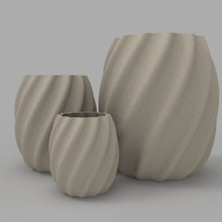 Descargar archivo 3D Twisted Pot, Joss