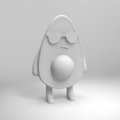 Télécharger objet 3D gratuit avocat pour la peinture, Joss