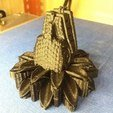 Free 3d printer model Quetzalcoatl pendant for backpack, Joss
