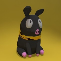pchan-cults.jpg Download STL file Little Pig • 3D printing model, Joss