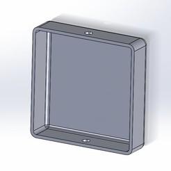 2017-09-30_1-52-03.jpg Download STL file Bumper End Cap - Square Tubing Cap • Design to 3D print, RSI