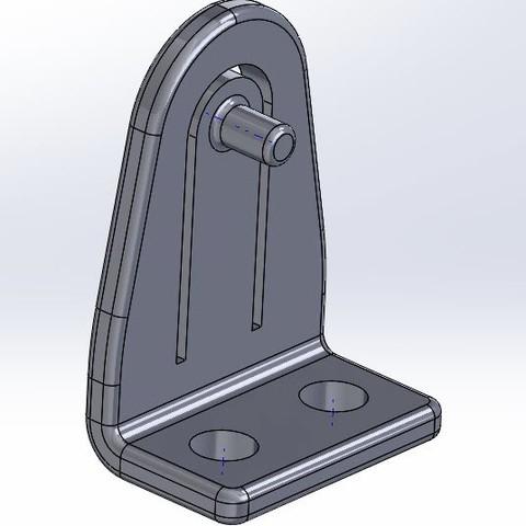 2017-09-30_1-57-13.jpg Download STL file Miniblind bracket • 3D printing model, RSI