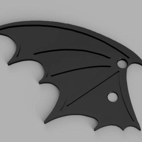 batwing shoes.jpg Download free STL file Lace Up Bat Wings • 3D print design, amiedd