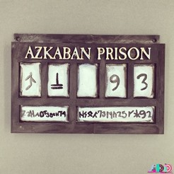 Free 3D printer designs Prisoner of Azkaban, amiedd