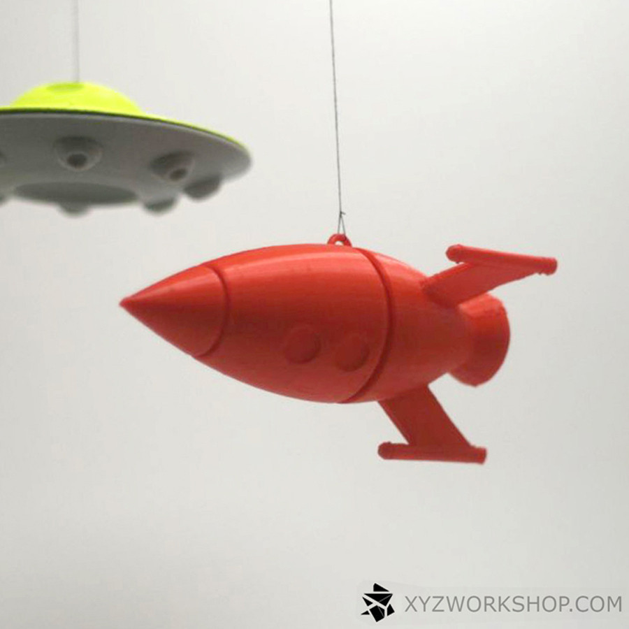 1.jpg Download STL file Outa Space Mobile • 3D print design, XYZWorkshop