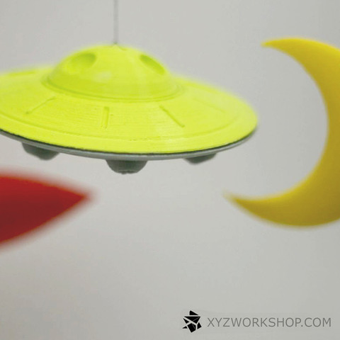 5.jpg Download STL file Outa Space Mobile • 3D print design, XYZWorkshop