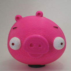 Modèle 3D gratuit 3D printing for Charity- Angry Birds Piggy Bank, XYZWorkshop