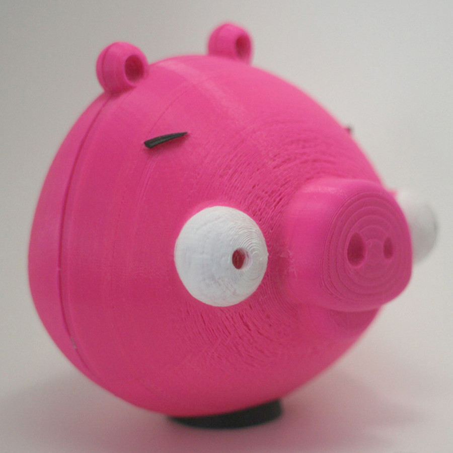 2.jpg Download free STL file 3D printing for Charity- Angry Birds Piggy Bank • Object to 3D print, XYZWorkshop