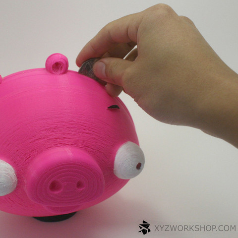 3.jpg Download free STL file 3D printing for Charity- Angry Birds Piggy Bank • Object to 3D print, XYZWorkshop