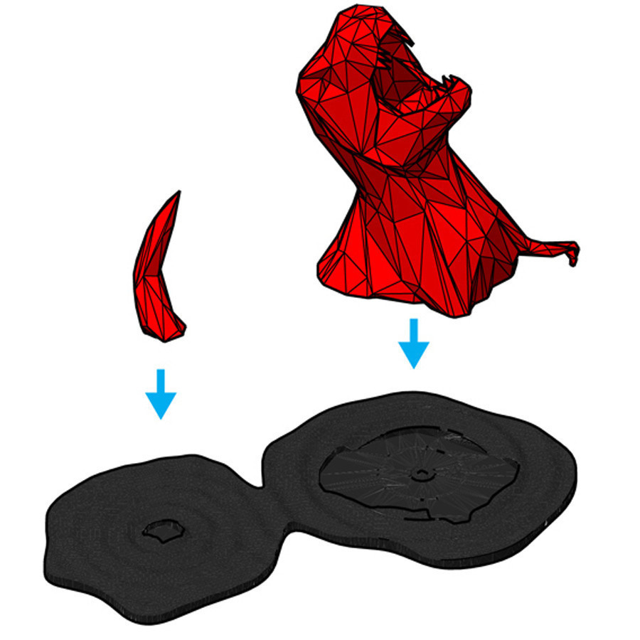 5.jpg Télécharger fichier STL Low-Poly Extinction • Plan pour impression 3D, XYZWorkshop