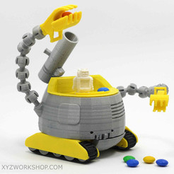 Free 3D printer file The Ulti-BotBot, XYZWorkshop