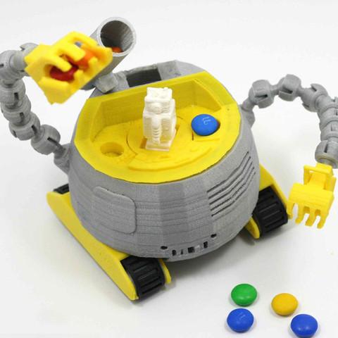 4.jpg Download STL file The Ulti-BotBot • 3D printer design, XYZWorkshop