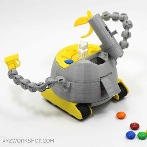 7.jpg Download STL file The Ulti-BotBot • 3D printer design, XYZWorkshop