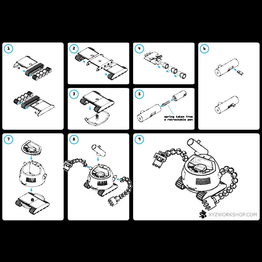 9.jpg Download STL file The Ulti-BotBot • 3D printer design, XYZWorkshop
