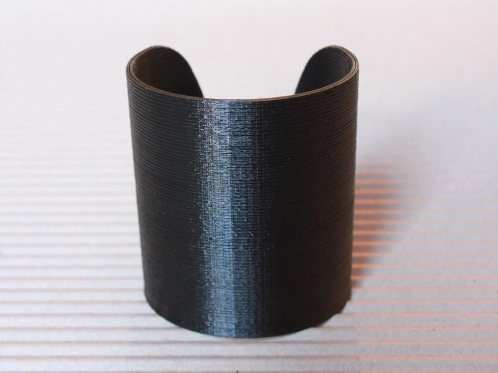 CuffBracelet.JPG Download free STL file Cuff Bracelet • 3D printing model, PrintelierProps
