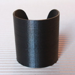 Download free 3D printer files Cuff Bracelet, printelier