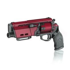 Download 3D printer files Duke Mk.44 Legendary Hand Cannon, PrintelierProps