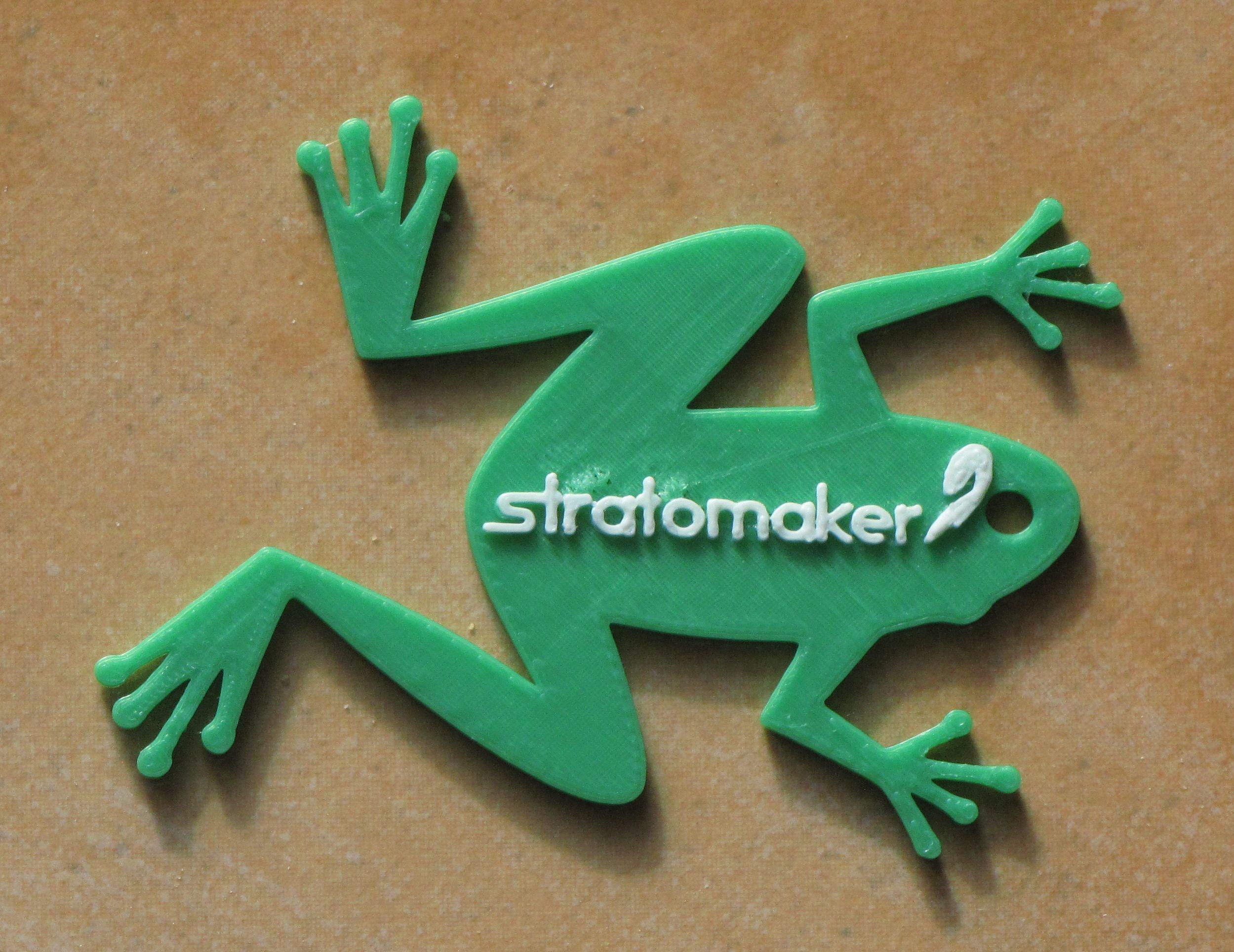 Stratomaker Grenouille.jpg Download free STL file GrenouilleSTRATOMAKER • 3D printer template, dopy