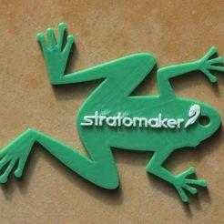 Descargar diseños 3D gratis GrenouilleSTRATOMAKER, dopy