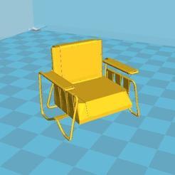 Télécharger fichier impression 3D gratuit Fauteuil, malre