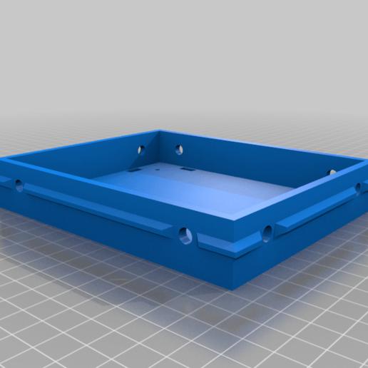 Base.png Télécharger fichier STL gratuit Montage simple SKR1.4 pour l'extrusion 2020 avec refroidissement actif • Objet à imprimer en 3D, maxdamage