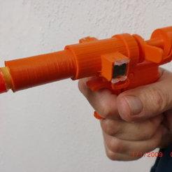 STL Pistolet magnétique NERF, edgarinventor