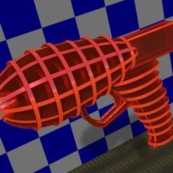 3D print files Ray Gun, edgarinventor