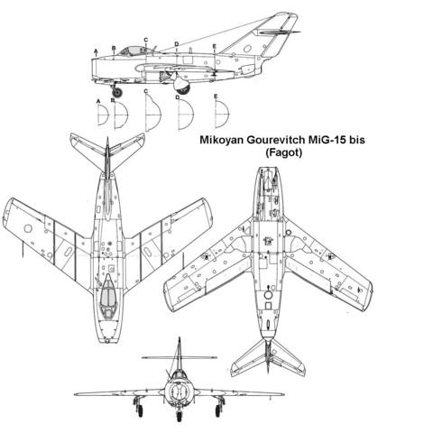 mig15_3v.jpg Download STL file Mikoyan-Gourevitch MiG-15 • 3D printer model, 3Dmodeling