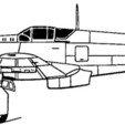 ki-61_COTE.jpg Download STL file Kawasaki Ki-61 Hien • 3D printing template, 3Dmodeling
