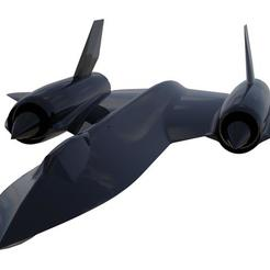 STL files SR71 At Blackbird, 3Dmodeling