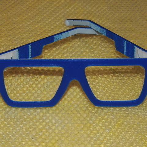 DSCN9653.jpg Download free STL file POP Glasses • 3D printable template, SimonePDA