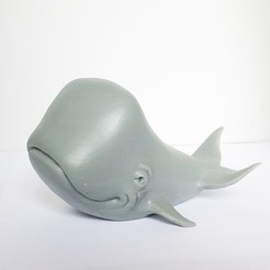 3D printing model Happy Whale, mooses