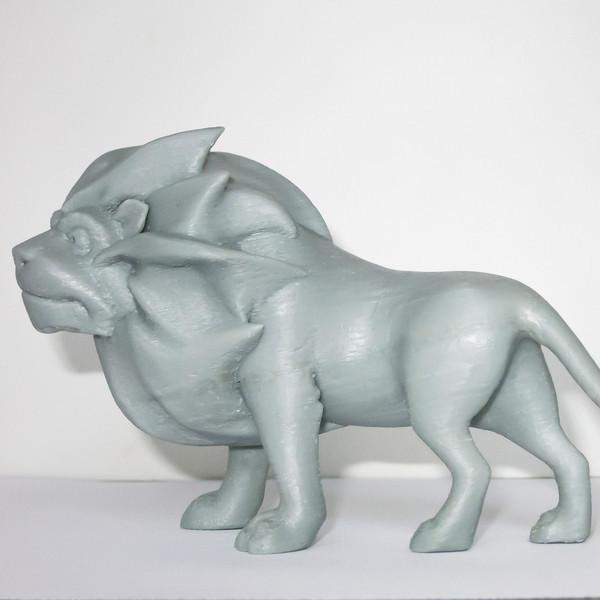 lion_2.jpg Download free STL file Majestic Lion • 3D print template, mooses