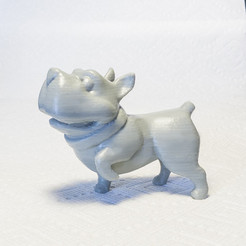Download free 3D printing models Begging Bulldog, mooses