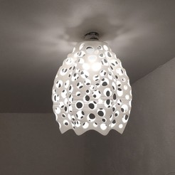 2020-06-01 22.47.58.jpg Download STL file Lighting Fixture Ceiling Lamp • Template to 3D print, AntoineB