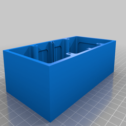 Cadre_de_mise_en_saille_2_mod.png Download free STL file Electrical surface mounting frame (For Europe only) • 3D printing design, gmau77