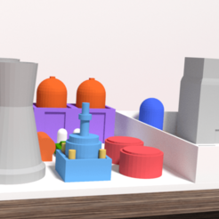 Download 3D printer designs Springfield Nuclear Power Plant, Ukiyograph
