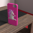 Download OBJ file Iphone 5 unicorn shell • 3D printing model, Ukiyograph