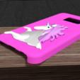 Download OBJ file Samsung Galaxy s7 unicorn shell • 3D printable design, Ukiyograph