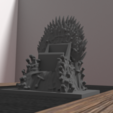 3D printing model Support Game of throne - iphone & android, Ukiyograph