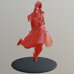 Download 3D printer templates Big belly dancer, Ukiyograph