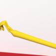 STL files Snake scepter, Ukiyograph
