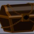 Descargar modelo 3D cofre del tesoro, Ukiyograph