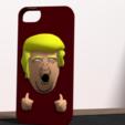 3D printer files Trump fuck yeah iphone 5 case, Ukiyograph