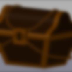 Download 3D printing templates Treasure chest, Ukiyograph