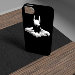 STL files Batman iphone 5 hull, Ukiyograph
